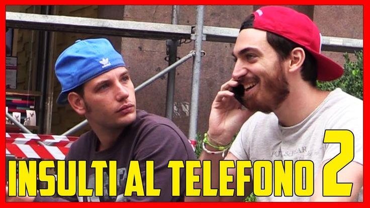 Insultare la Gente Parlando al Telefono 2 - [Esperimento Sociale] - theShow