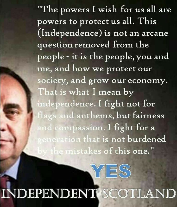 Alex Salmond on Scottish Independence - Scotland YES! 2014