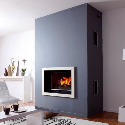 17 best images about fireplace in the living room on - Cheminee contemporaine ...