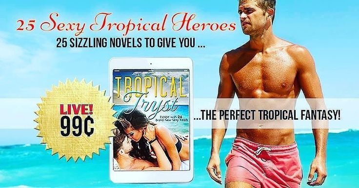 Over 140 reviews 4.7stars READERS are LOVING Tropical Tryst ONLY 99cents for 25 Brand New Sexy Tropical Romances That's 4cents a BOOK! Go grab your copy of Tropical Tryst NOW!  @TropicalTryst #TropicalTryst   tropicaltryst.com   #romancebooks #sexysummerreads #amreading #authorsofinstagram #bookstagrammers #hotreads #hotsummerreads #boxedset #cheapbooks #tropicalromances #giveaway #amazon #goodreads #newrelease #availablenow