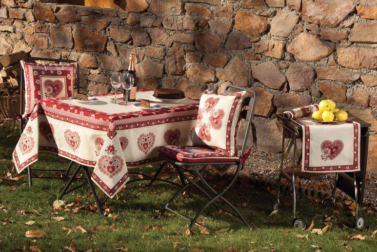 Il bellissimo stile di questo tavolo riflette #Galtexstyle!