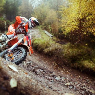 World Enduro Champion David Knight.