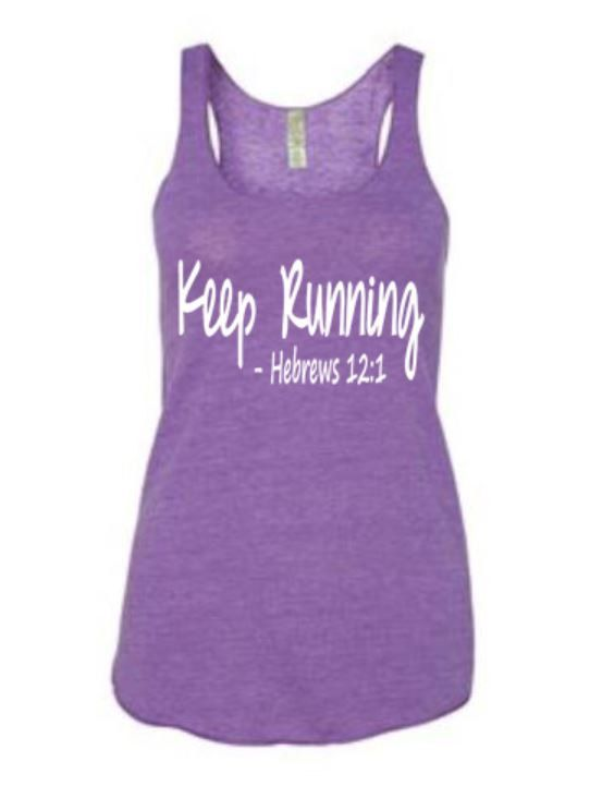 cute workout tank (even though I don't like running)