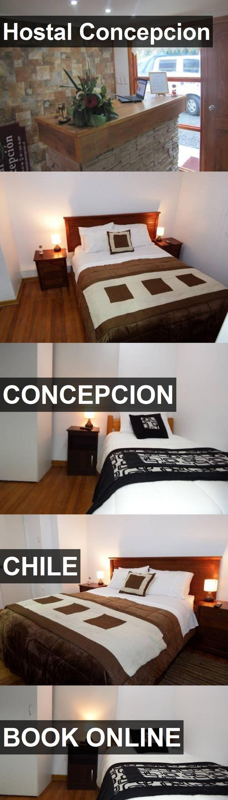 Hotel Hostal Concepcion in Concepcion, Chile. For more information, photos, reviews and best prices please follow the link. #Chile #Concepcion #travel #vacation #hotel