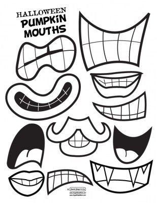 how to draw a monster with stitched mouth