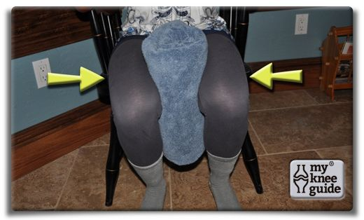 Adductor Set - Place a towel or ball between your thighs. Squeeze the thighs together and hold.