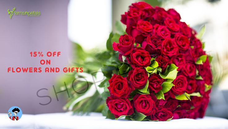 Surprise her with red roses.