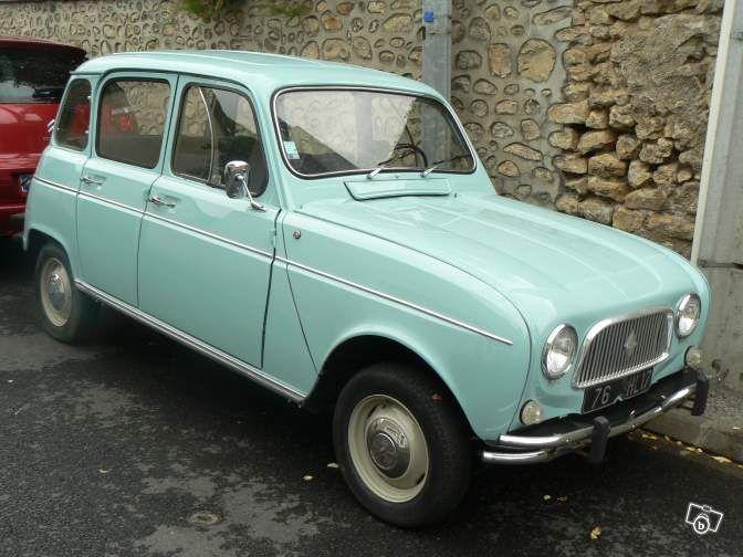 Renault R4 Super de janvier 1963 de collection Voitures Charente-Maritime - leboncoin.fr
