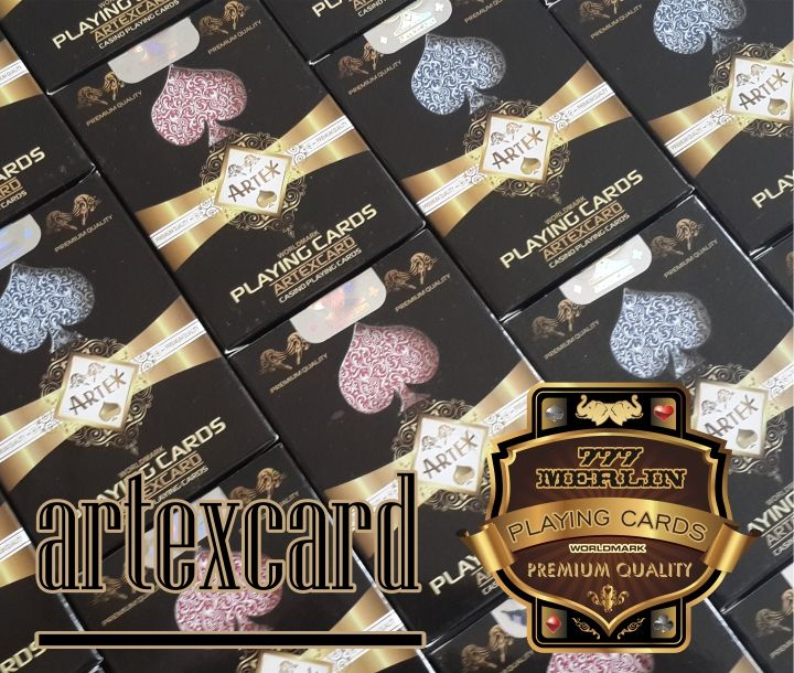 High Quality Casino Playing Cards with logo
