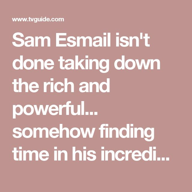 Sam Esmail isn't done taking down the rich and powerful... somehow finding time in his incredibly busy schedule-- he wrote, directed and oversaw every episode of Mr. Robot's 2nd season-- to add another project to his pile...currently adapting classic sci-fi film Metropolis as miniseries,according to The Hollywood Reporter.. No network attached yet, but being set up at Universal Cable Productions & isn't expected to air for 2-3yrs.