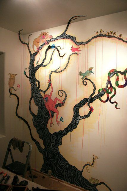 by Kim Hr. Holm  Animal Tree - Copenhagen