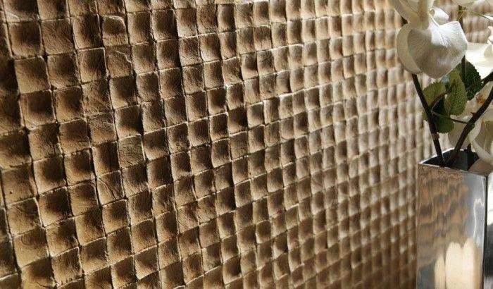 Coco - Pannelli murali modulari PanelPiedra in pietra ricostruita riproducono in modo assolutamente realistico superfici in pietra, marmo, ardesia, mattoni, ecc.