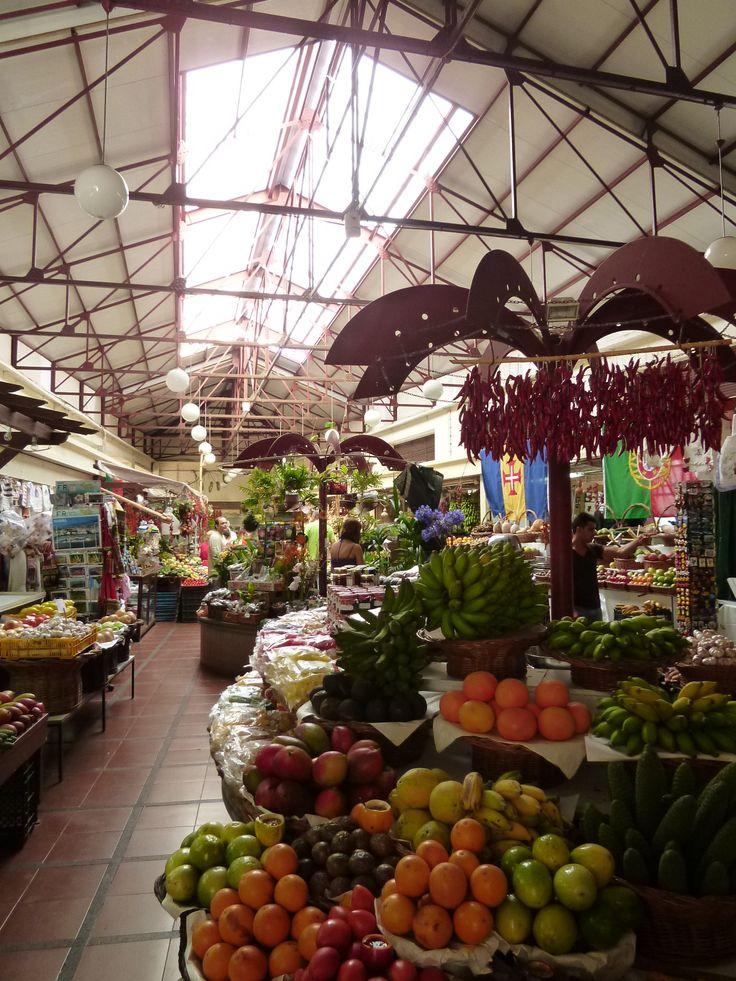 """""""Mercado dos Lavradores"""", Funchal Madeira Portugal (Luglio)"""