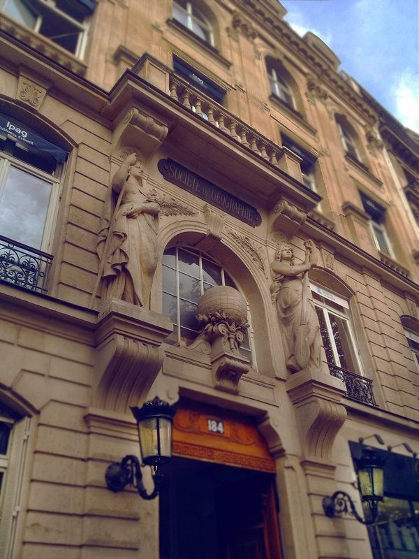 Paris-shots Tumblr http://paris-shots.tumblr.com/post/99313671303/societe-de-geographie-184-boulevard Paris-shots Deviantart http://paris-shots.deviantart.com/art/Paris-Saint-Germain-Societe-de-Geographie-487583663?q=gallery%3Aparis-shots%2F51470064&qo=14