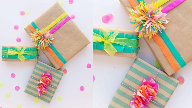 C mo envolver regalos originales para navidad envoltura - Envolver regalos de navidad ...