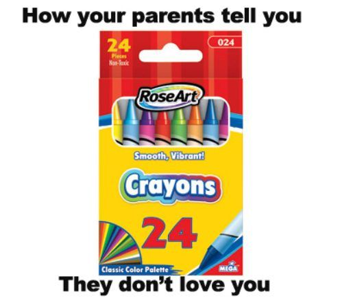 Worst crayons ever.