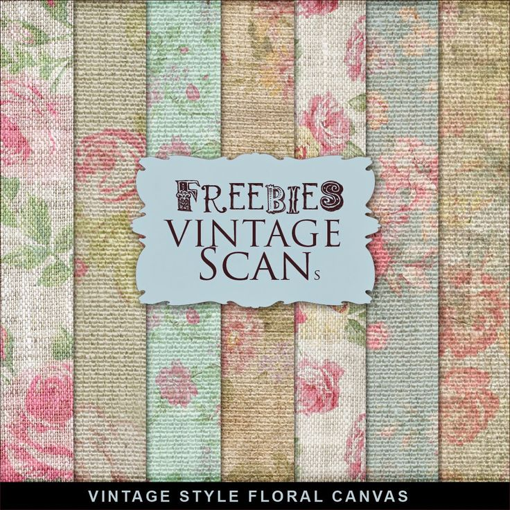 New Freebies Background Kit - Floral Canvas:Far Far Hill - Free database of…