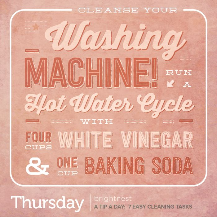 how to clean your washing machine with white wine vinegar
