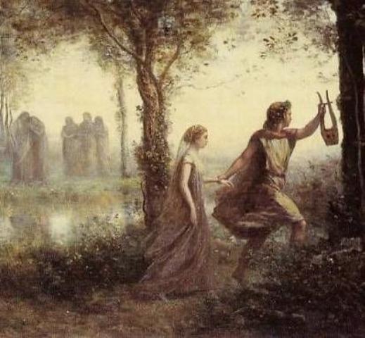 Ο Ορφέας ο ξακουστός μουσικός που έφτασε μέχρι τον Άδη για να φέρει πίσω την αγαπημένη του. Από κείνον προέρχονται τα ορφικά μυστήρια.