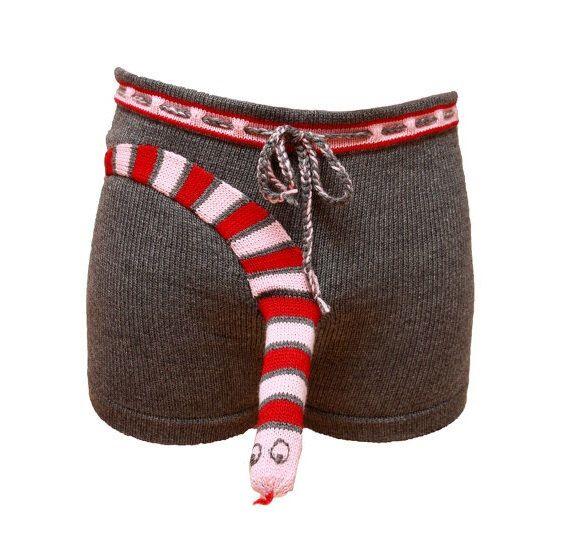 The Christmas Snake? Etsy https://www.etsy.com/listing/255596282/christmas-pajama-christmas-underwear