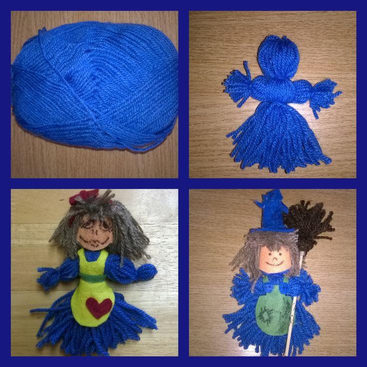 Vlněné panenky, čarodejnice