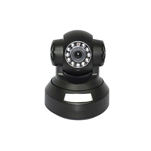 """iPM Neo Baby Monitor/IP Camera, Black. Plug-and-play, remote P2P(Peer to Peer) connection, no need for port mapping. Real-time HD H.264 encoding, resolution, frame rate and bit rate are adjustable. High-sensitivity 1/5"""" 1.0 megapixel CMOS sensor, max. image resolution is up to 1280*720. Built-in MIC, supports 2-way audio monitoring. Supports remote monitoring and Pan/Tilt control via iPhone/iPad/4G Phone/Android Smartphone, etc. (Pan: 270 degree; Tilt: 120 degree). PC surveillance…"""