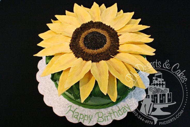 SUNFLOWER SMASH CAKE - Google Search