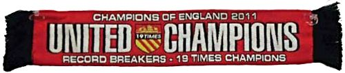 United Champions 19 Times Car Scarf