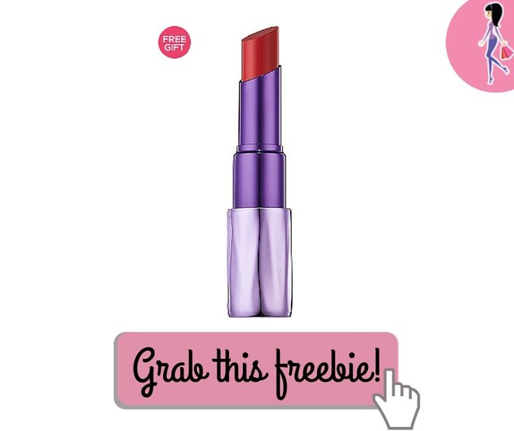 Today ONLY, Urban Decay Sheer Revolution Lipstick is 50% off!! Click to grab this deal and get some free Urban Decay samples when you order!