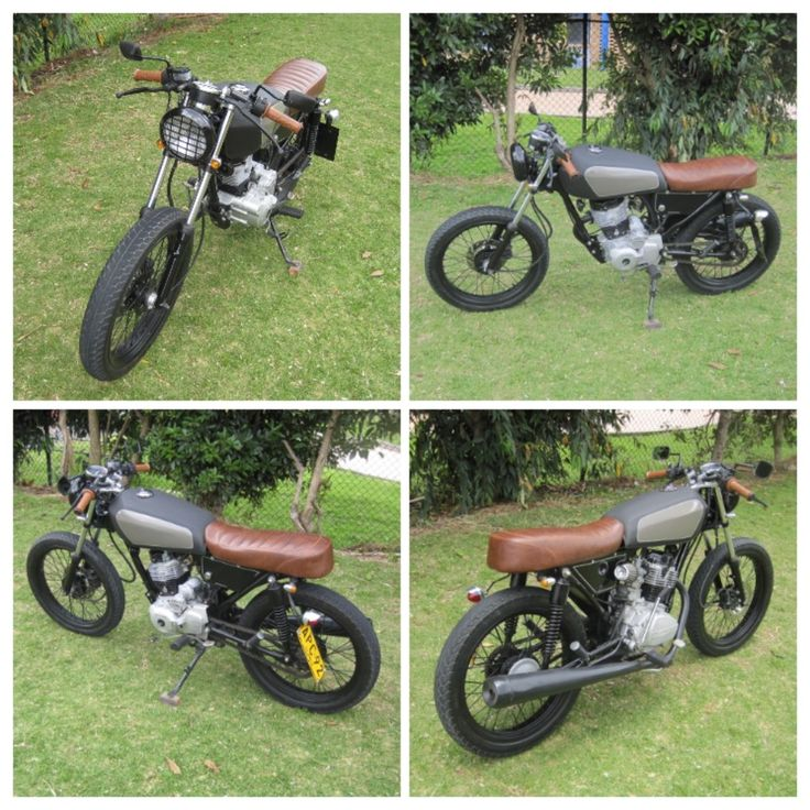 CLAV-CUSTOM - AKT 125 Sport CAFE RACER  resultado final Clav-Custom