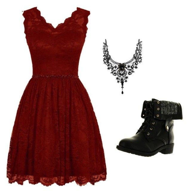 """""""Prom // Maroon"""" by anissa-c on Polyvore featuring Refresh"""