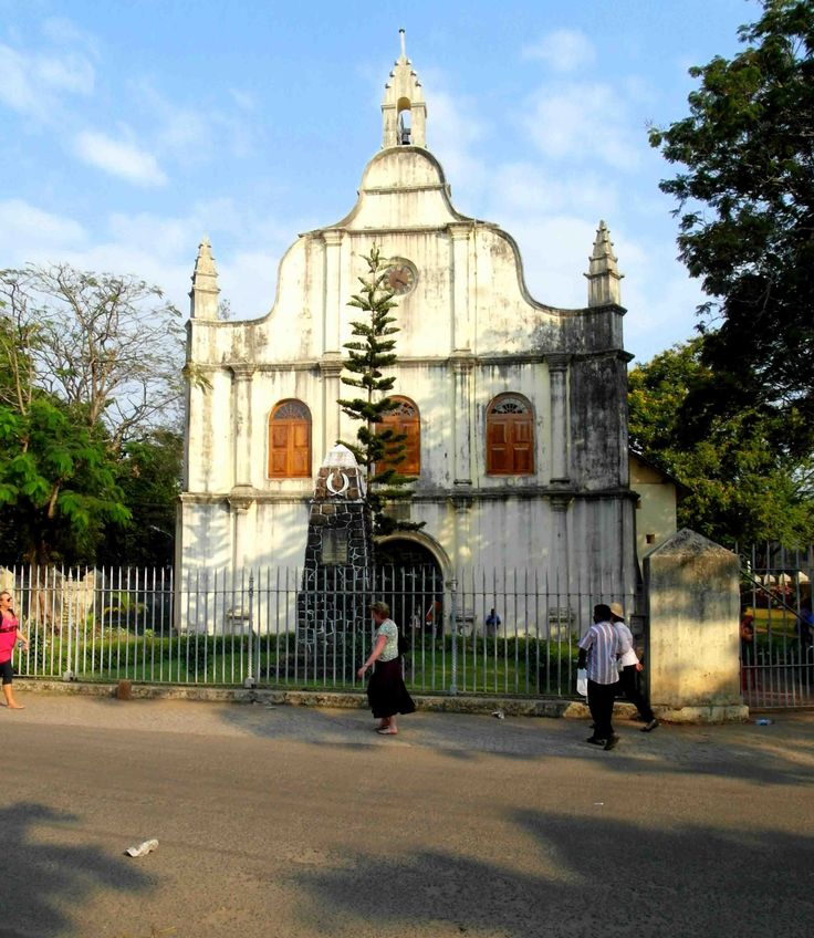 St francis church kochi kerala india is the first for Religious buildings in india
