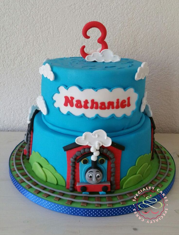 Thomas the Train Cake / Thomas de trein taart