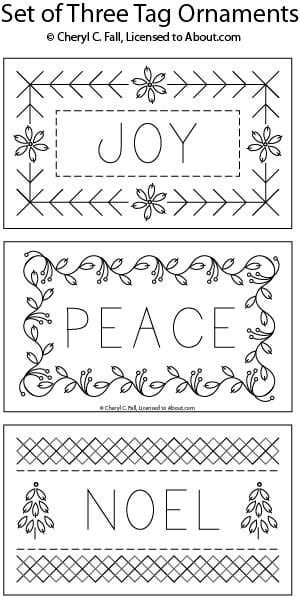 Christmas embroidery pattern  Repinned by RainyDayEmbrdry www.etsy.com/shop/RainyDayEmbroidery