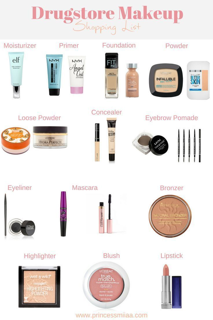 The Ultimate Drugstore Makeup Shopping List Hair Beauty Health