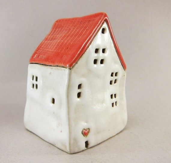 Wonder if I could make a similar birdhouse? via Etsy, Elukka