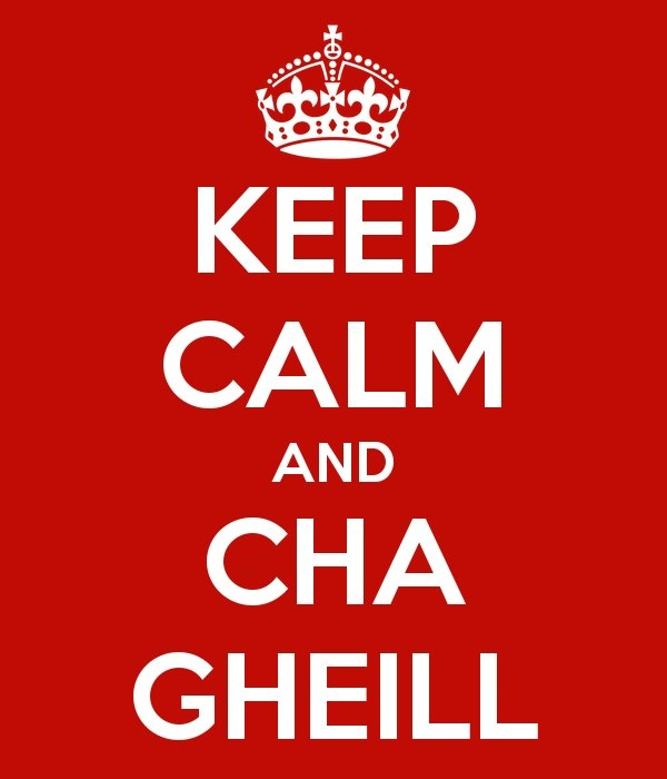 Che Gheill, the Queen's motto!