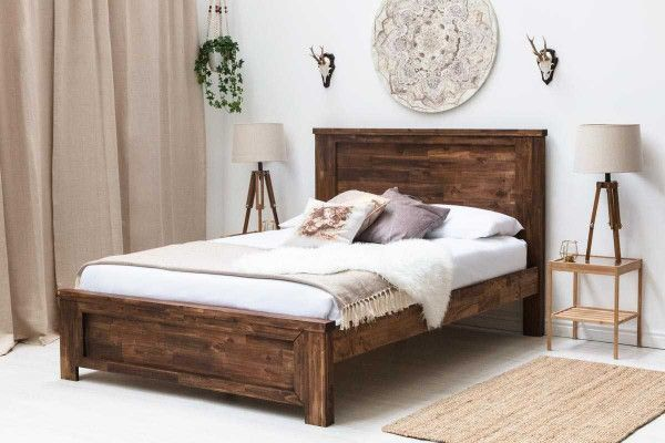 Wooden Bed Frames Free Delivery On Wooden Double Bed Frames