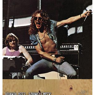 Atlanta 1973 (soundcheck) - Led Zeppelin Photos