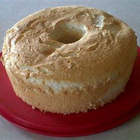 High-Altitude Angel Food Cake
