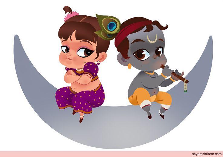 Little Radhe Krishna