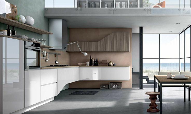 Replay Next, cucina moderna e grintosa, con ante in ...