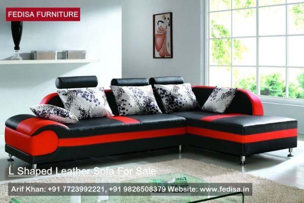 L Shape Sofa Set, L Shaped Sofa, Tan L Shaped Sofa | Fedisa | L ...
