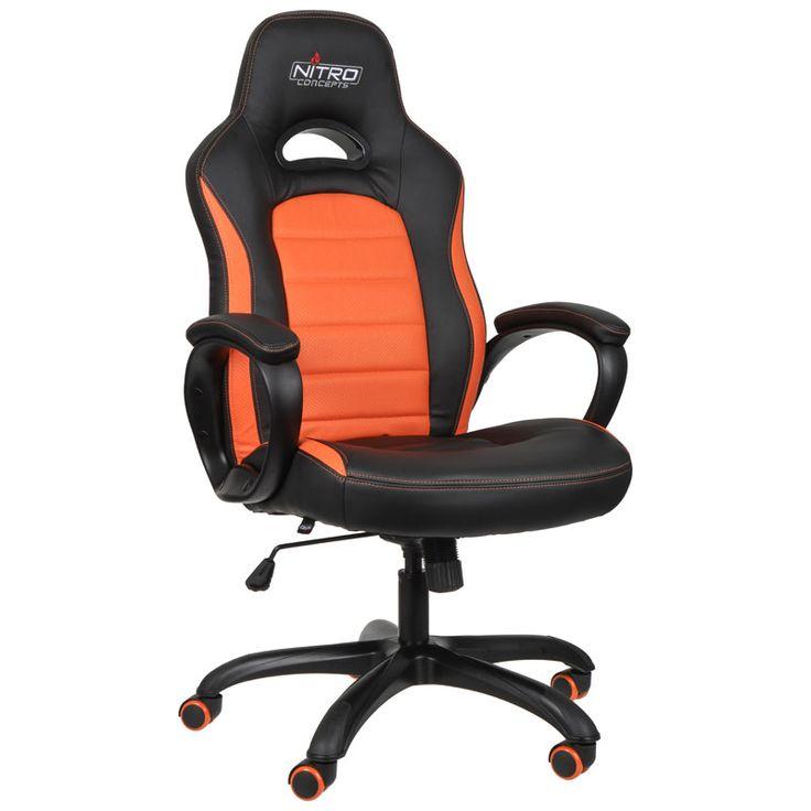 One Computer Nitro Concepts C80 Pure Gaming Stuhl schwarz orange: Category: AKRACING Item number: 20586603975 Vendor: One…%#Quickberater%