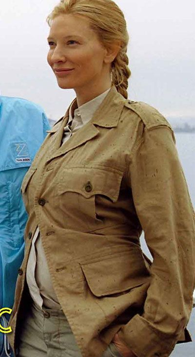 If still pregnant at Halloween - CATE BLANCHETT in The Life Aquatic PICTURES PHOTOS and IMAGES