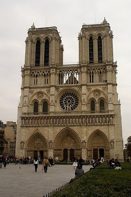 yup but i did get to see Notre Dame :)
