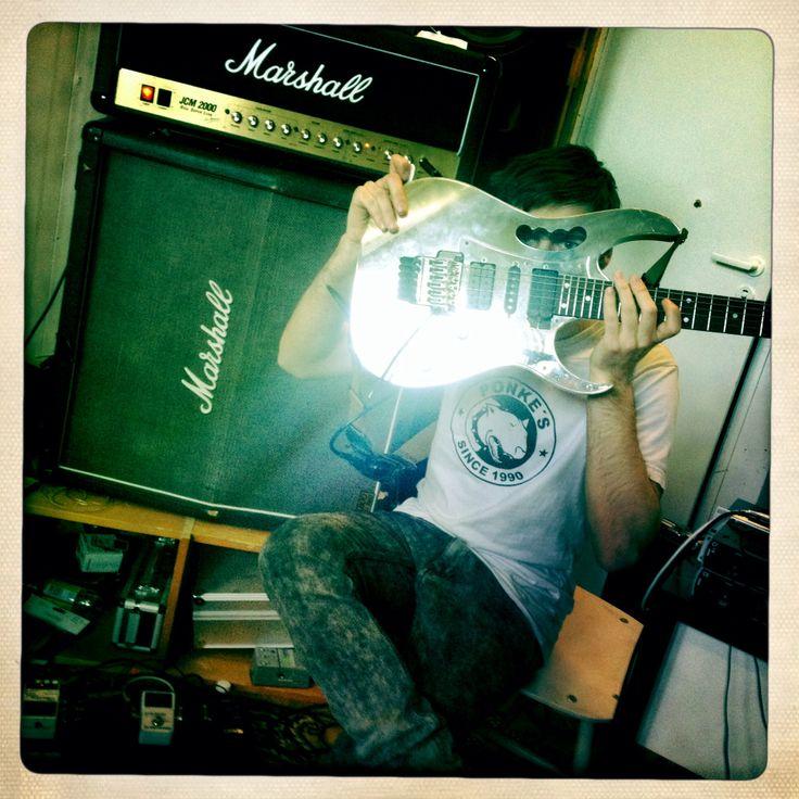 Recording guitars, ibanez jem