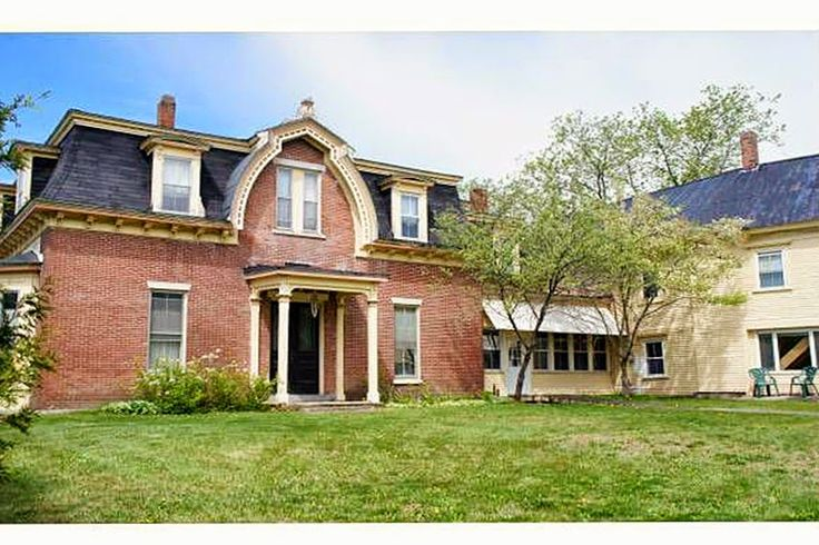 229 best second empire mansard roofs images on pinterest for Second empire homes for sale