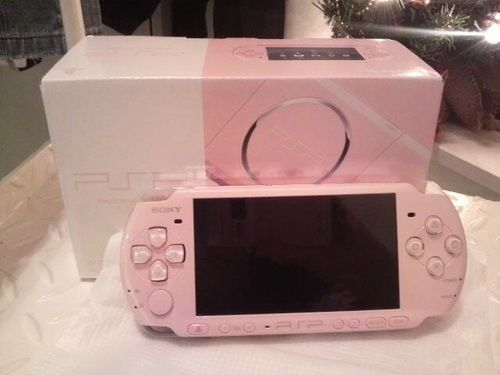 pink, psp, and game image