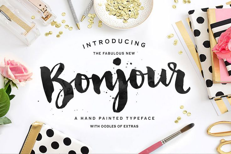 40 Brush Script Fonts - Some Free